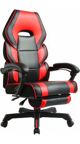 11Геймерське крісло GT Racer M-2643 Black/Red