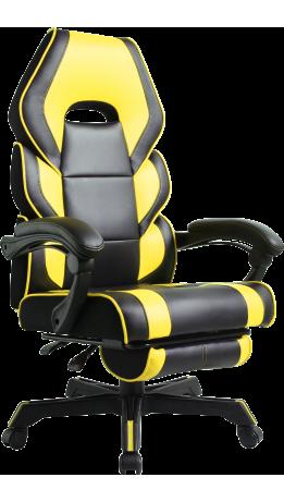 Геймерське крісло GT Racer M-2643 Black/Yellow