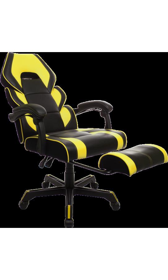Геймерское кресло GT Racer M-2643 Black/Yellow