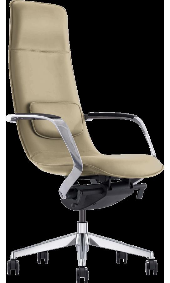 Офисное кресло GT X-003A LEATHER Beige