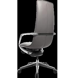 Офісне крісло GT Racer X-003A LEATHER Dark Gray