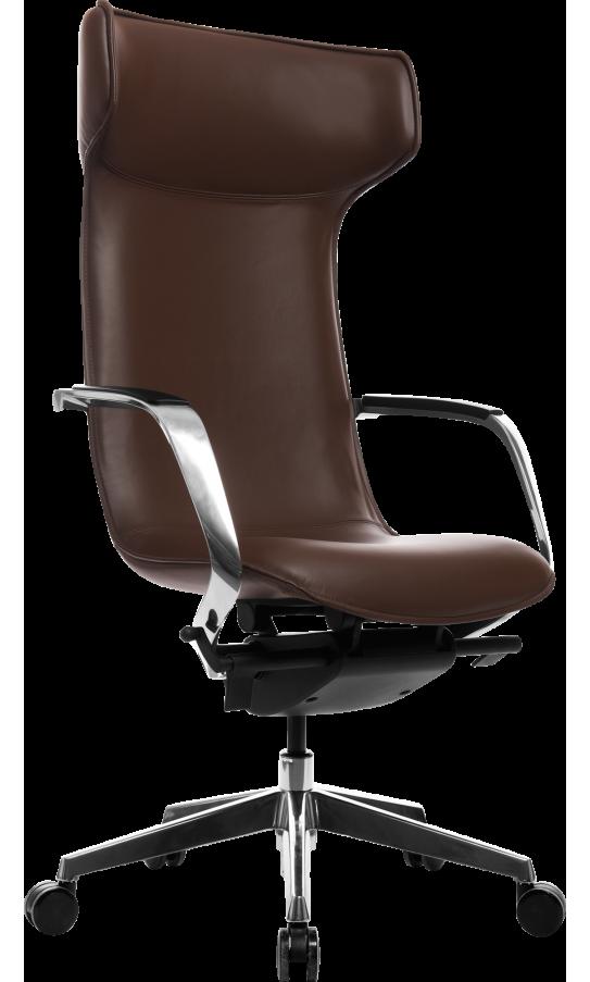 Офісне крісло GT Racer X-003F LEATHER Brown