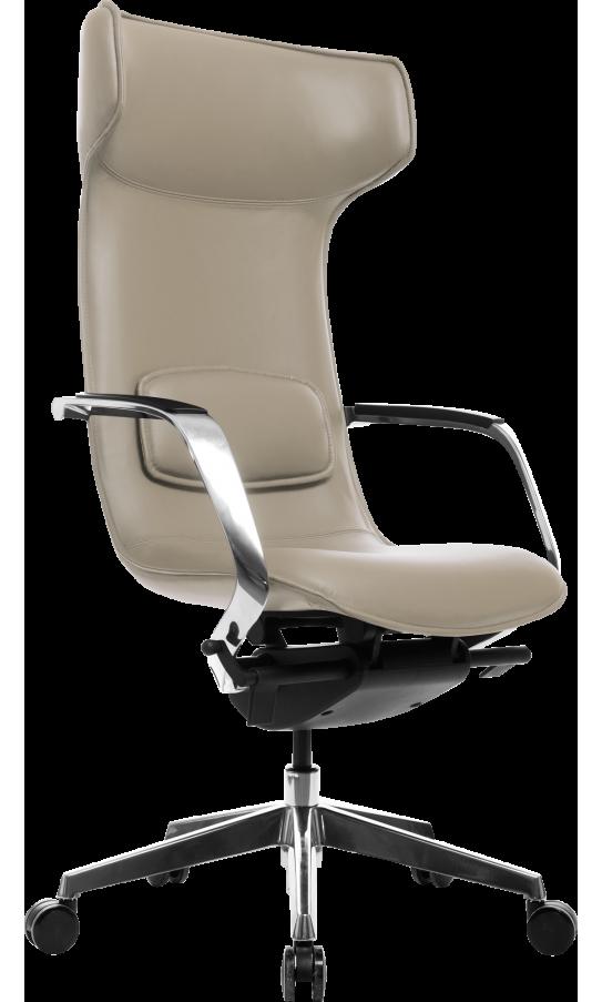 Офісне крісло GT Racer X-003F LEATHER Dark Beige