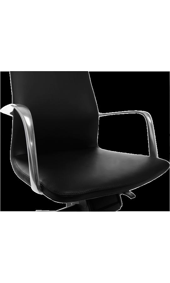 Офісне крісло GT Racer X-004A13 LEATHER Black