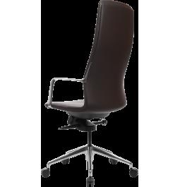Офісне крісло GT Racer X-004A13 LEATHER Dark Brown