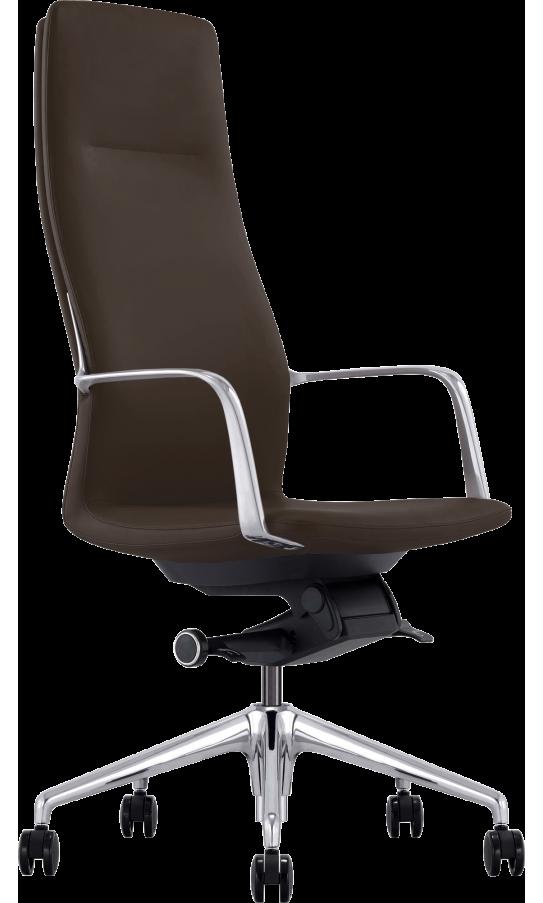 Офисное кресло GT X-004A13 LEATHER Dark Brown