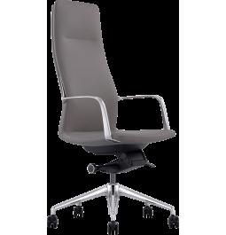 Офисное кресло GT X-004A13 LEATHER Dark Gray