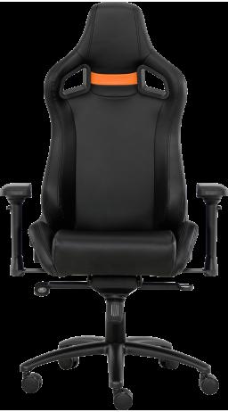 11Геймерське крісло GT Racer X-0714 Black/Orange