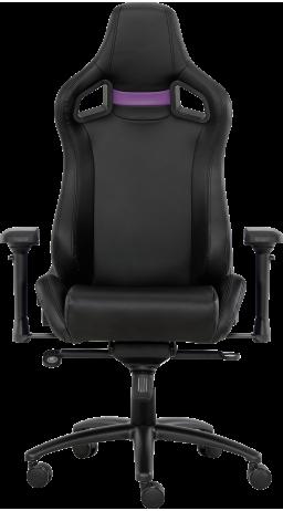 11Геймерське крісло GT Racer X-0714 Black/Violet