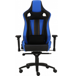 Геймерське крісло GT Racer X-0715 Black/Blue