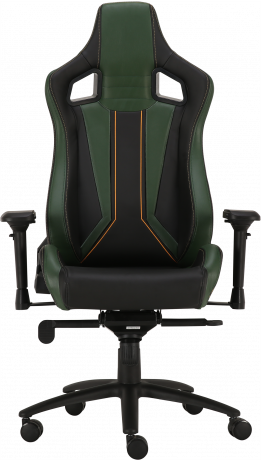 Геймерское кресло GT Racer X-0715 Black/Green