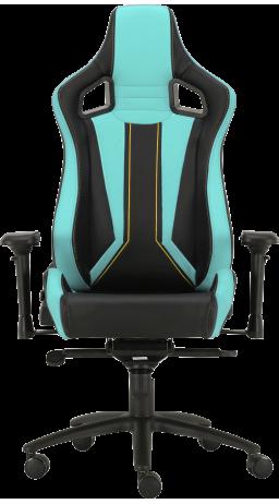 11Геймерське крісло GT Racer X-0715 Black/Mint
