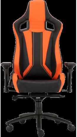 Геймерське крісло GT Racer X-0715 Black/Orange