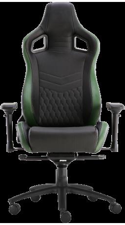 11Геймерське крісло GT Racer X-0718 Black/Green