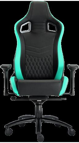 11Геймерське крісло GT Racer X-0718 Black/Mint