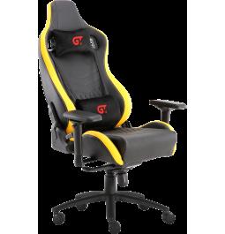 Геймерское кресло GT Racer X-0718 Black/Yellow