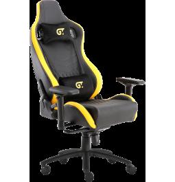 Геймерське крісло GT Racer X-0718 Black/Yellow