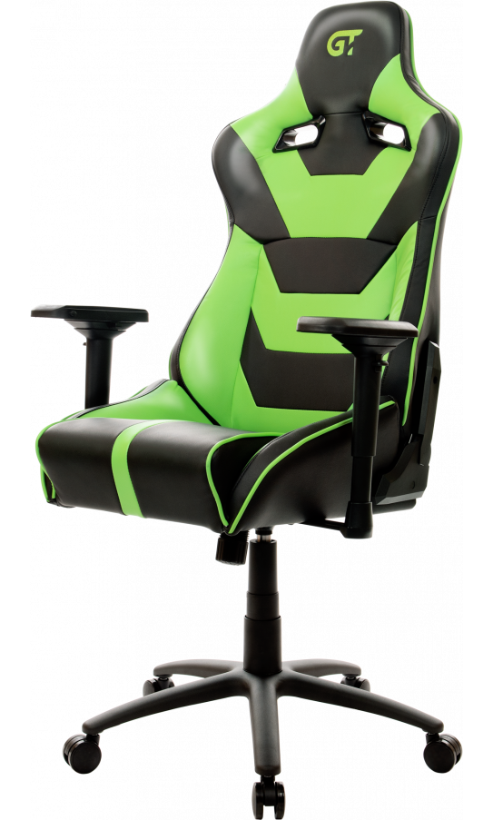 Геймерское кресло GT Racer X-0719 Black/Acid