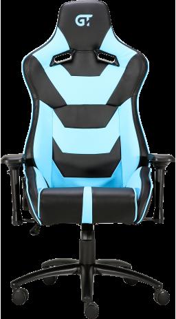 Геймерське крісло GT Racer X-0719 Black/Light Blue