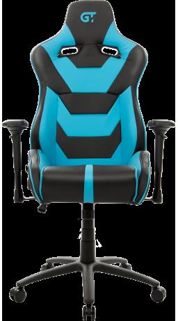 11Геймерське крісло GT Racer X-0719 Black/Light Blue
