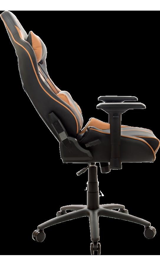 Геймерское кресло GT Racer X-0719 Black/Brown