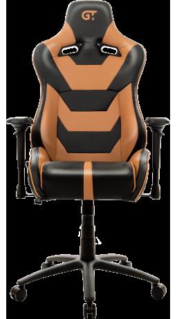 11Геймерське крісло GT Racer X-0719 Black/Brown