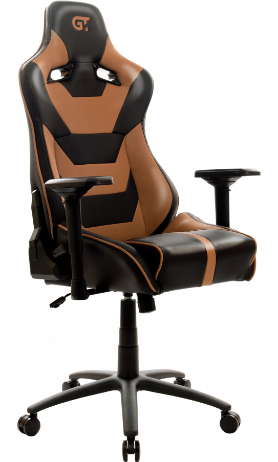 Геймерське крісло GT Racer X-0719 Black/Brown