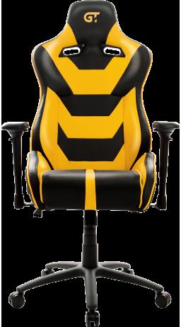 11Геймерське крісло GT Racer X-0719 Black/Yellow