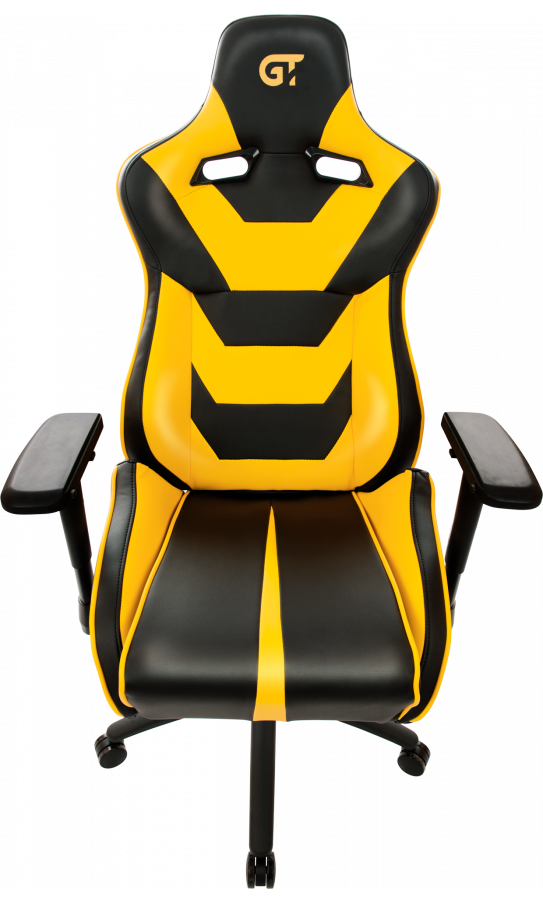 Геймерське крісло GT Racer X-0719 Black/Yellow
