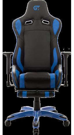 11Геймерское кресло GT Racer X-0722 Black/Blue