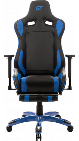 Геймерское кресло GT Racer X-0722 Black/Blue