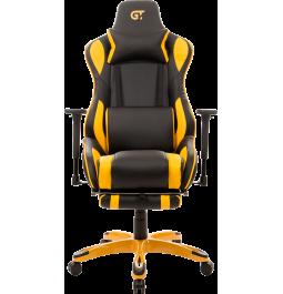 Геймерское кресло GT Racer X-0722 Black/Yellow