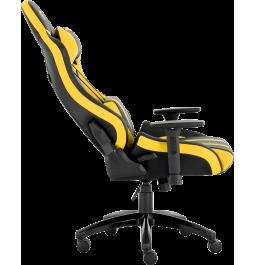 Геймерское кресло GT Racer X-0725 Black/Yellow