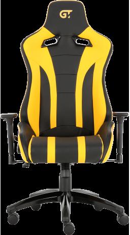 11Геймерське крісло GT Racer X-0725 Black/Yellow