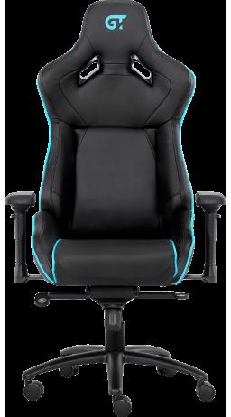 11Геймерське крісло GT Racer X-0733 Black/Blue