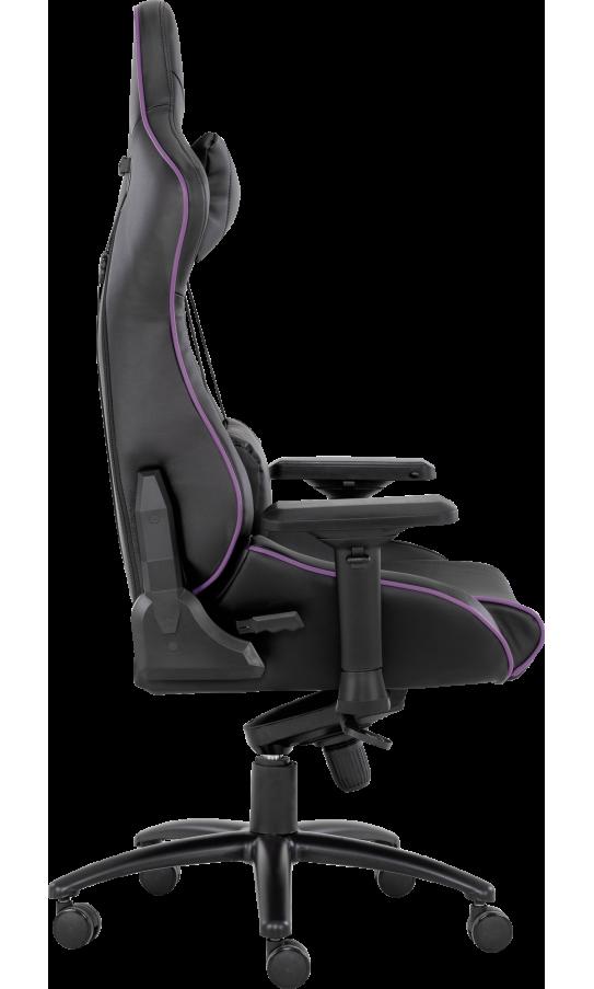 Геймерское кресло GT Racer X-0733 Black/Violet