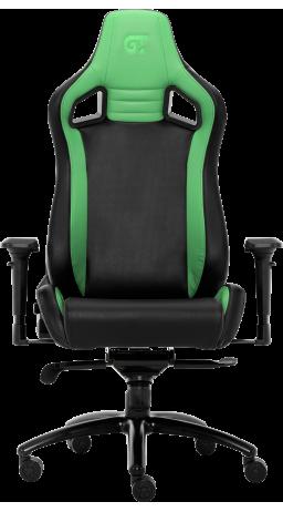 11Геймерське крісло GT Racer X-0814 Black/Dark Green