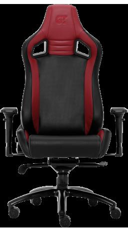 11Геймерське крісло GT Racer X-0814 Black/Wine Red