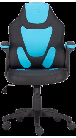 11Геймерське дитяче крісло GT Racer X-1414 Black/Blue (Kids)