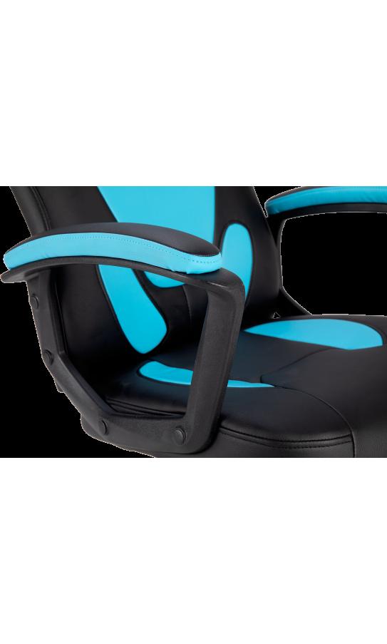 Геймерське дитяче крісло GT Racer X-1414 (Kids) Black/Blue
