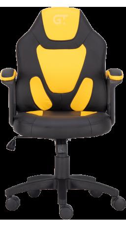Геймерське дитяче крісло GT Racer X-1414 Black/Yellow (Kids)