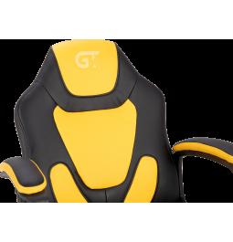 Геймерське дитяче крісло GT Racer X-1414 (Kids) Black/Yellow