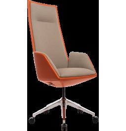 Офисное кресло GT Racer X-1916 FABRIC Orange/Flaxen