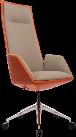Офісне крісло GT Racer X-1916 FABRIC Orange/Flaxen