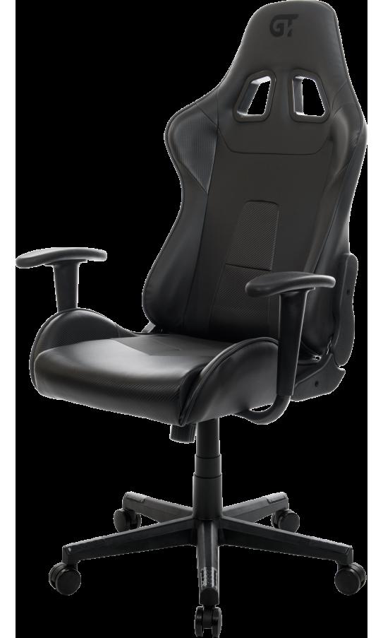 Геймерське крісло GT Racer X-2317 Black/Carbon Black