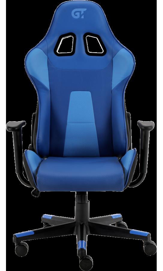 Геймерское кресло GT Racer X-2317 Black/Dark Blue