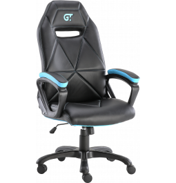 Геймерське крісло GT Racer X-2318 Black/Light Blue