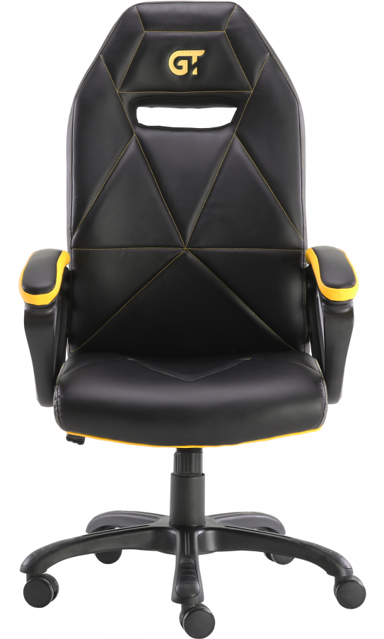 Геймерське крісло GT Racer X-2318 Black/Yellow