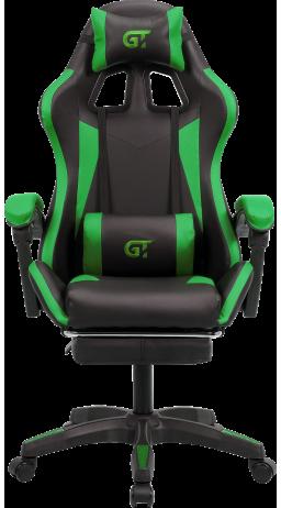Геймерское кресло GT Racer X-2323 Black/Green
