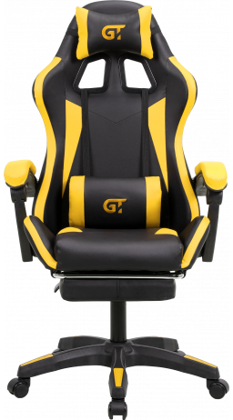 Геймерське крісло GT Racer X-2323 Black/Yellow